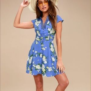 Free People Alora Mini Dress